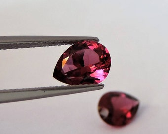 Booked, not available. Rhodolite garnet pair 3.6 carats. #RD36