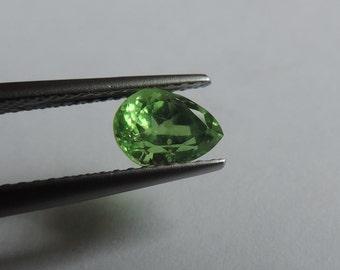 Tsavorite green garnet.3k grossular quality gems #TSAV1