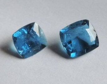 Very rare. Afghanite, two tiny, very clean gems from Sar-e-Sang, Badakhshan, Afghanistan. Port offered. #AFG12