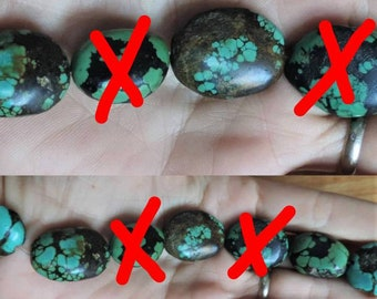 90's vintage turquoise from Nepal. Sold to the unit.