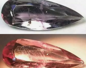 Booked, not available. Diaspore - Zultanite 0.8carat from Turkey 11-4.5-2.2 mm.