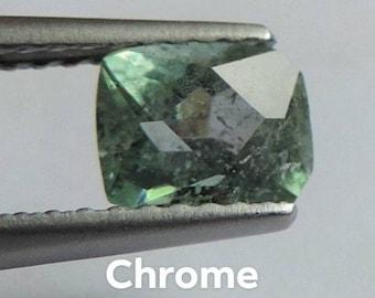 Kornerupine-Prismatine 0.9ct. Dimensions: 6.2x4.9x3.8 mm. Port offered. #KRP48