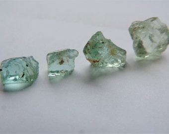 Crude aquamarine, total weight 5.70 grams.