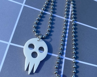Lord Death Acrylic Necklace