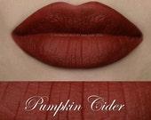 Pumpkin Cider Liquid Lipstick Matte Liquid Lipstick