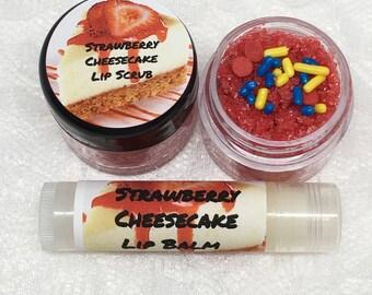 Strawberry Cheesecake Lip Balm And Or Lip Scrub