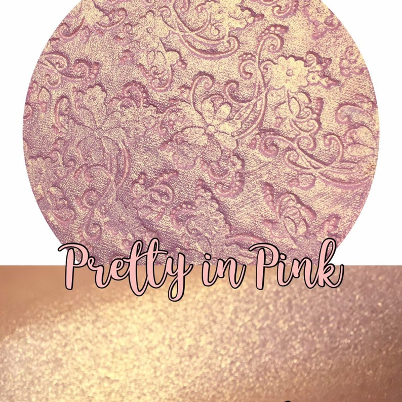 Pretty in Pink Pressed Highlighter Face & Eye Highlight Powder image 0