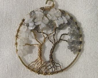 Double Tree of Life Pendant