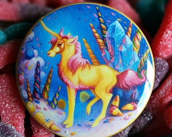 Unicorn Candyland Pin by Angel Hawari