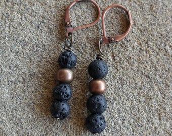 Essential Oil Earrings, Oil Diffuser Earrings, Aromatherapy Earrings, Boho Earrings, Girlfriend Gift