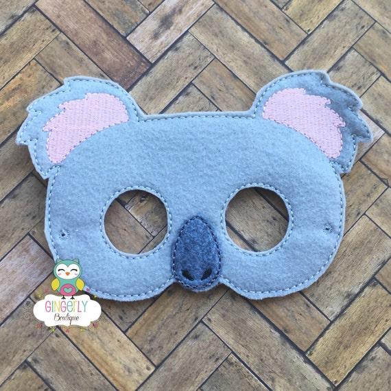 Koala Bear Mask Kids Dress Up Costume