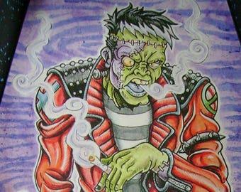 BoogeyRock Monster - Original Illustration