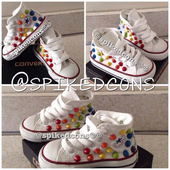 Black Studded BottomsAlso Available Conversehard In Rainbow Spike oCedxB