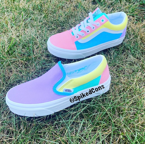 colorful vans Online Shopping for Women
