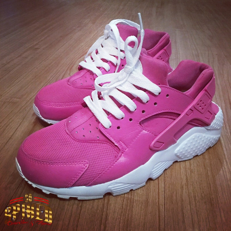 77e431e7390f Custom Pink Nike Air Huaraches