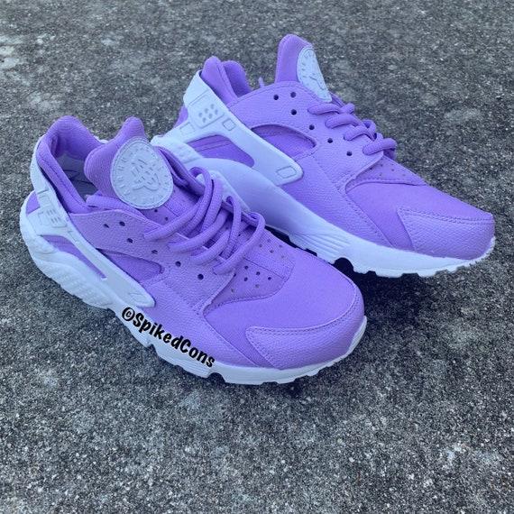 Custom Light Purple Huaraches Lavendar