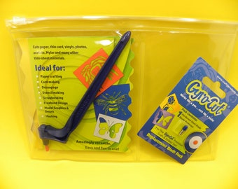 GYRO-CUT JUNIOR Craft Tool + Replacement Blade Pack