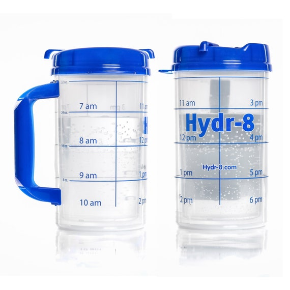 Hydr-8 Water Bottle The Gallon 32 ounce. BPA Free | Etsy
