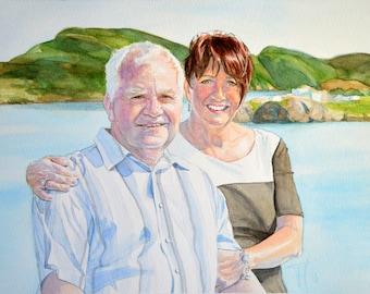 Commission a Watercolour Portrait