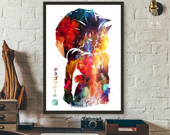 Watercolor Poster Etsy
