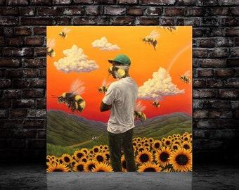 59727a4cce0a24 Tyler The Creator I Aint Got Time Art Poster Album Music Cover Art Silk  Print home Decor