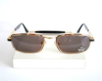 Metal aviator New Vintage Sunglasses - Original Vintage - 90s - New old stock