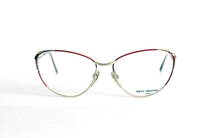 a90ceb7717 Paco Rabanne Cat Eye Montura de Gafas Mod. 701 | Etsy