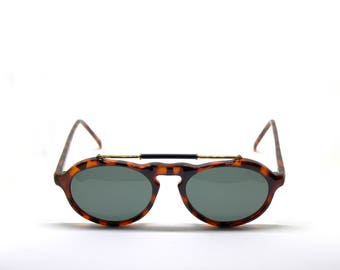 POLAROID aviator acetate NEW VINTAGE sunglasses