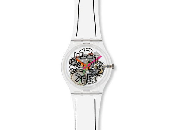 Swatch Scribble GZ124  - NEW OLD STOCK - with gene