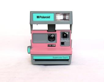 Polaroid 600 SUPERCOLOR ESPRIT Pink and grey