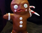 Killer Gingerbread Man figurine