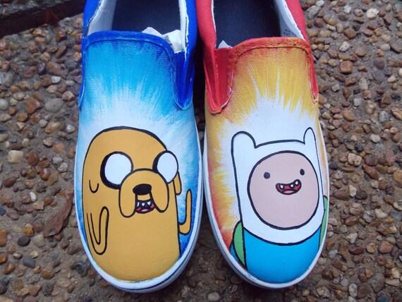 3e1b2da86e Adventure Time shoes Men s Children s Design
