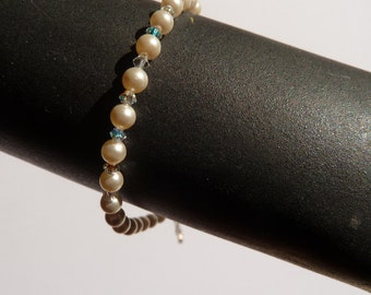 """""""Jewelry-wedding Bracelet ' LAURINE"""" for wedding or just to make you happy"""