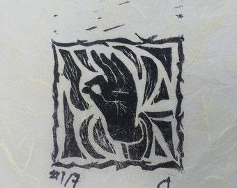 Buddha's Hand Print
