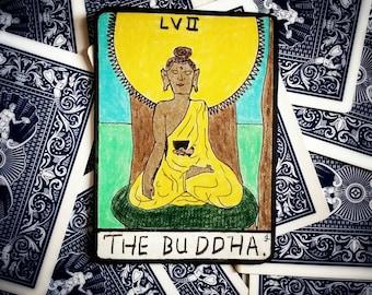 "Buddha ""Tarot"" style art"