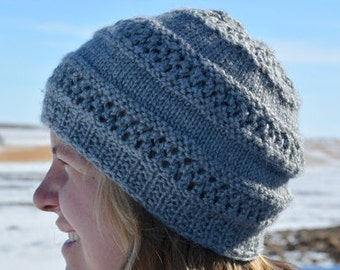 KNITTING PATTERN PDF Hat - Adult Knit pattern Hat - Adult Knit Hat - Adult Hat - Knit Hat