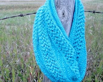 KNITTING PATTERN PDF Scarf - Knit pattern Infinity scarf, Knitting pattern infinity scarf