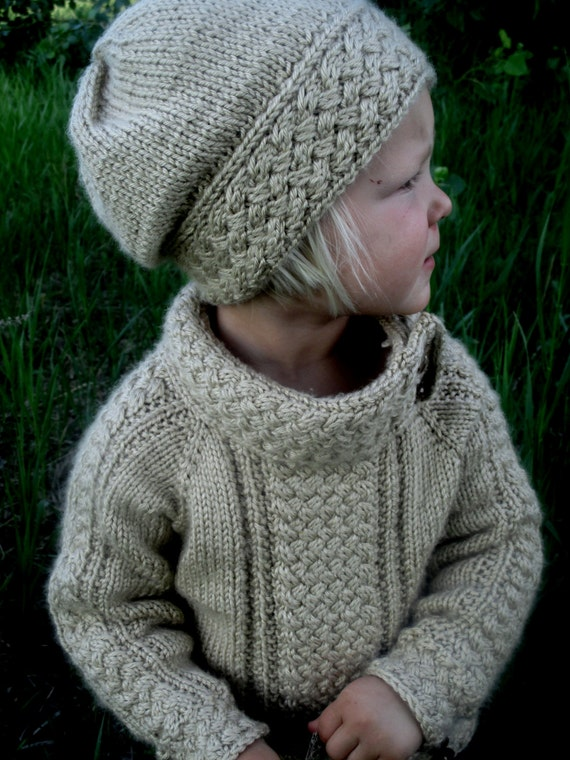Knitting Pattern Pdf Sweater Knit Pattern Sweater Baby Etsy