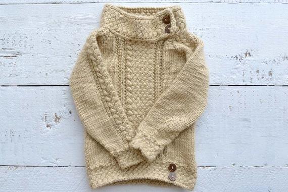 Sweater knitting pattern / Knit pattern sweater / Knitted | Etsy
