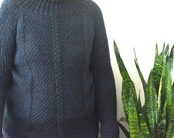 KNITTING PATTERN PDF Sweater - Adult knit sweater pattern - knitting pattern adult sweater