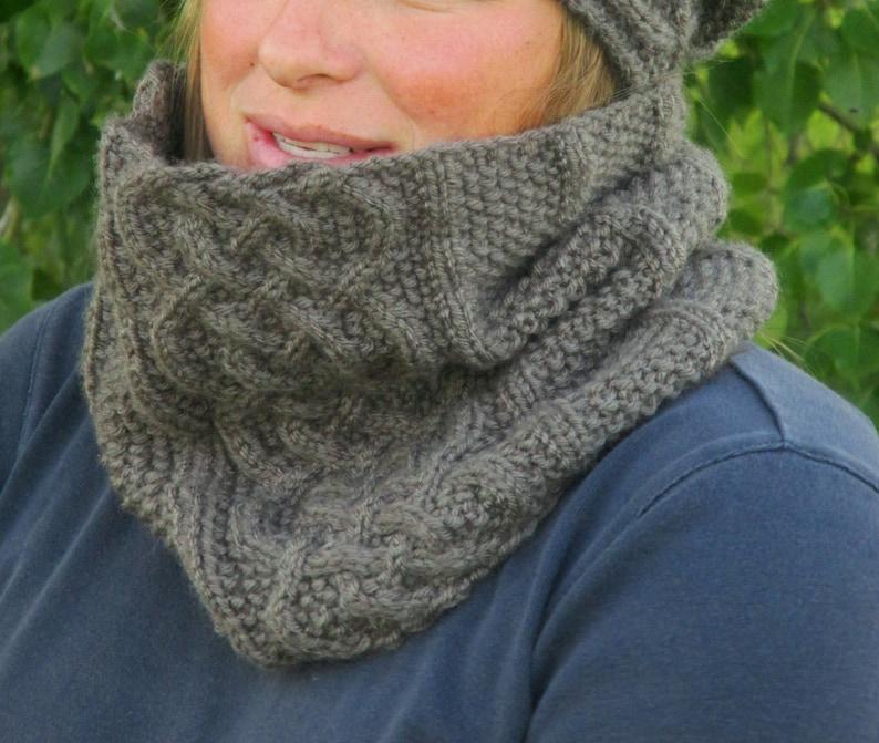 knit pattern scarf cowl scarf knitting pattern KNITTING PATTERN PDF cowl knit pattern cowl