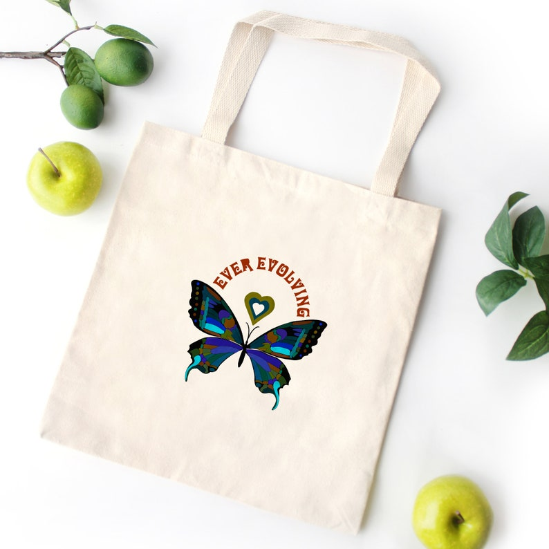 Ever Evolving Tote Law of Attraction Manifestation Butterfly Mug