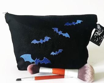 Vanity bag* Bat swarm - blue