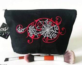 Cosmetic bag*  Spiderflora
