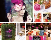 Melbourne Cup 2014 Party Pack - SUPPLIED ITEMS