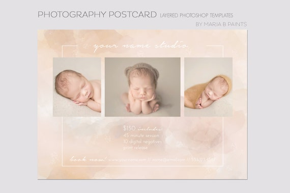 Photography Marketing Template Soft Beige Mini Sessions Etsy