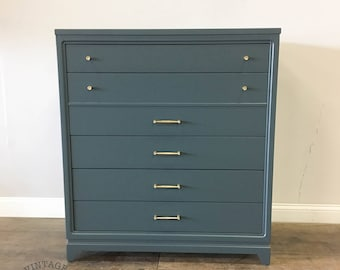 AVAILABLE: Grey Lacquer Chest