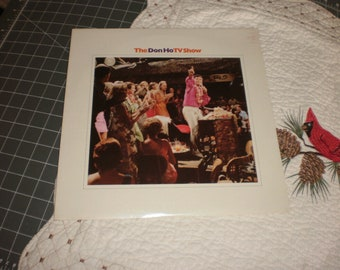 The Don Ho TV Show partially sealed vinyl record album Reprise Records