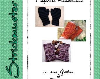 Gehäkelte Handschuhe Anleitung Zweifarbig Mit Knopf Und Riegel Aus