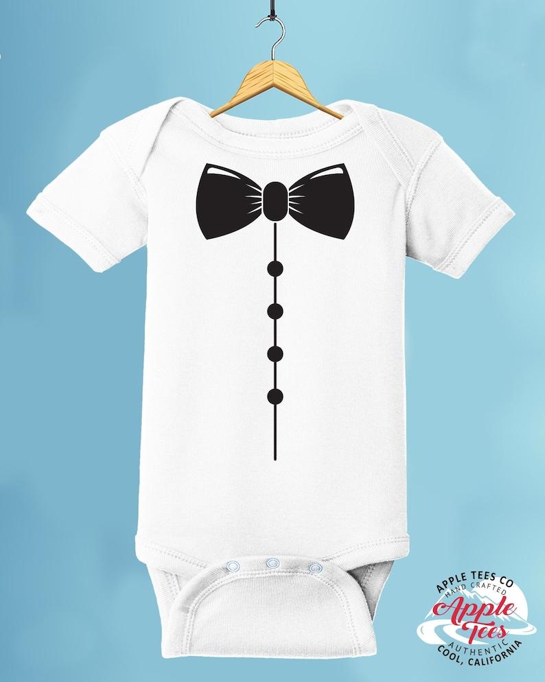 feb388a41 Tuxedo Onesies ® Brand Baby Bodysuit Infant Baby Creeper | Etsy